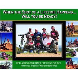 4 day Rifle Shooting School