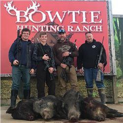 2-day Hog Hunt in Oklahoma for 2