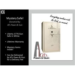 Liberty 1776 Safe (White) MYSTERY SAFE