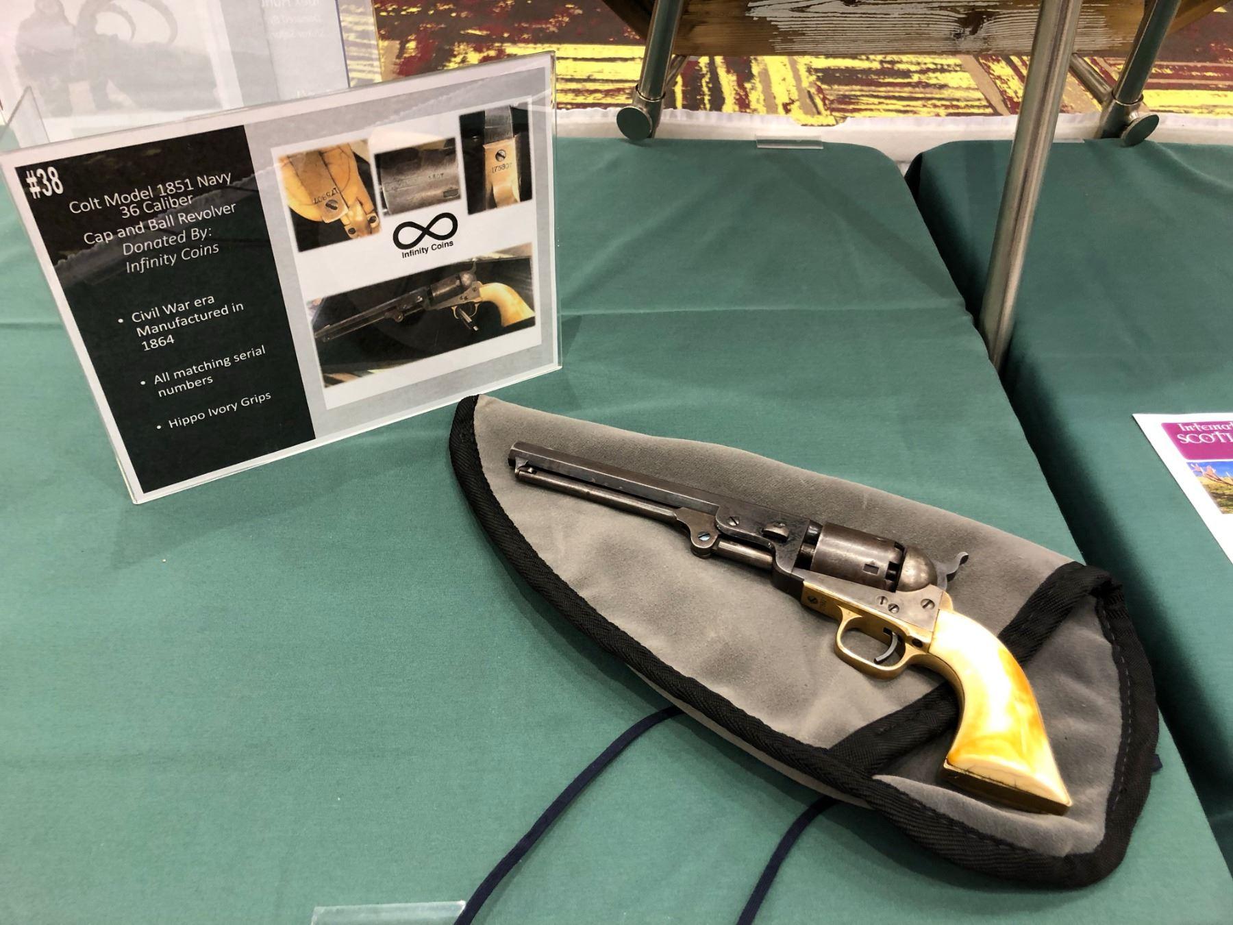 Civil Ware Era Colt 1851 Navy  36 Caliber Cap And Ball Revolver