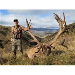 Adult/Youth New Zealand Red Stag Hunt