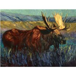 SCI Artist of the Year Moose Print