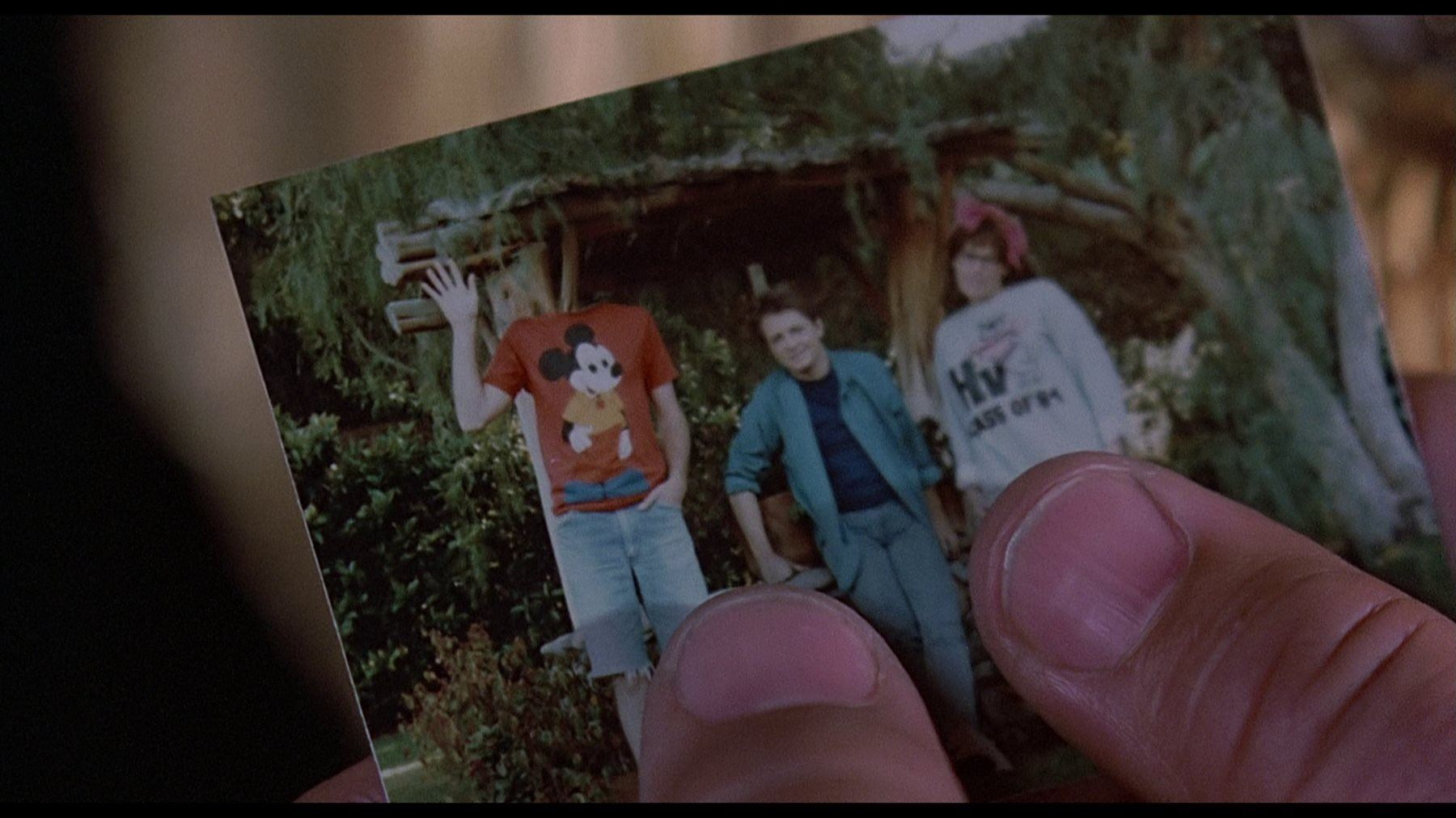 Image result for images of Marty's fading wallet photo from back to the future