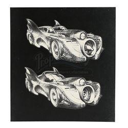 BATMAN (1989) - Batmobile Designs