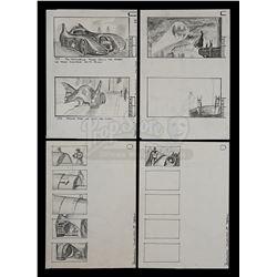 BATMAN (1989) - Hand-Drawn Storyboards