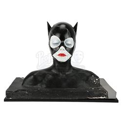 BATMAN RETURNS (1992) - Catwoman (Michelle Pfeiffer) Prototype Make-Up Test Bust