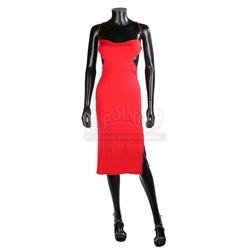 BATTLESTAR GALACTICA (TV MINISERIES 2003) - Number Six's (Tricia Helfer) Red Dress