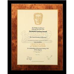 BLADE RUNNER (1982) - BAFTA Certificate of Nomination