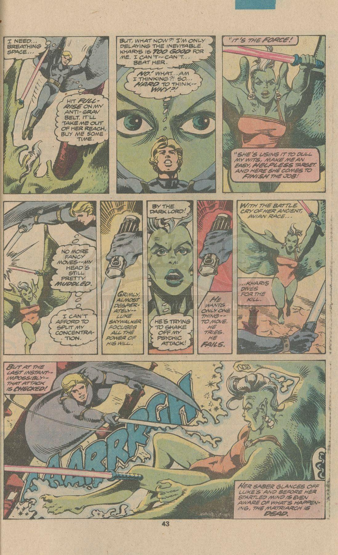 STAR WARS ANNUAL #1 (1979) - Mike Vosburg and Steve Leialoha