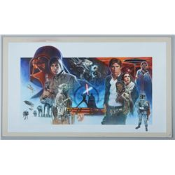 STAR WARS: THE EMPIRE STRIKES BACK (1980) - Jason Palmer Hand-Painted 25th Anniversary Celebration I