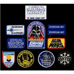 STAR WARS: THE EMPIRE STRIKES BACK (1980) - Set of Assorted Crew Patches
