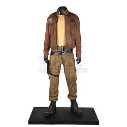 STAR WARS: ROGUE ONE: A STAR WARS STORY (2016) - Captain Cassian Andor (Diego Luna) Exhibition Costu