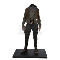 STAR WARS: ROGUE ONE: A STAR WARS STORY (2016) - Jyn Erso (Felicity Jones) Exhibition Costume Displa