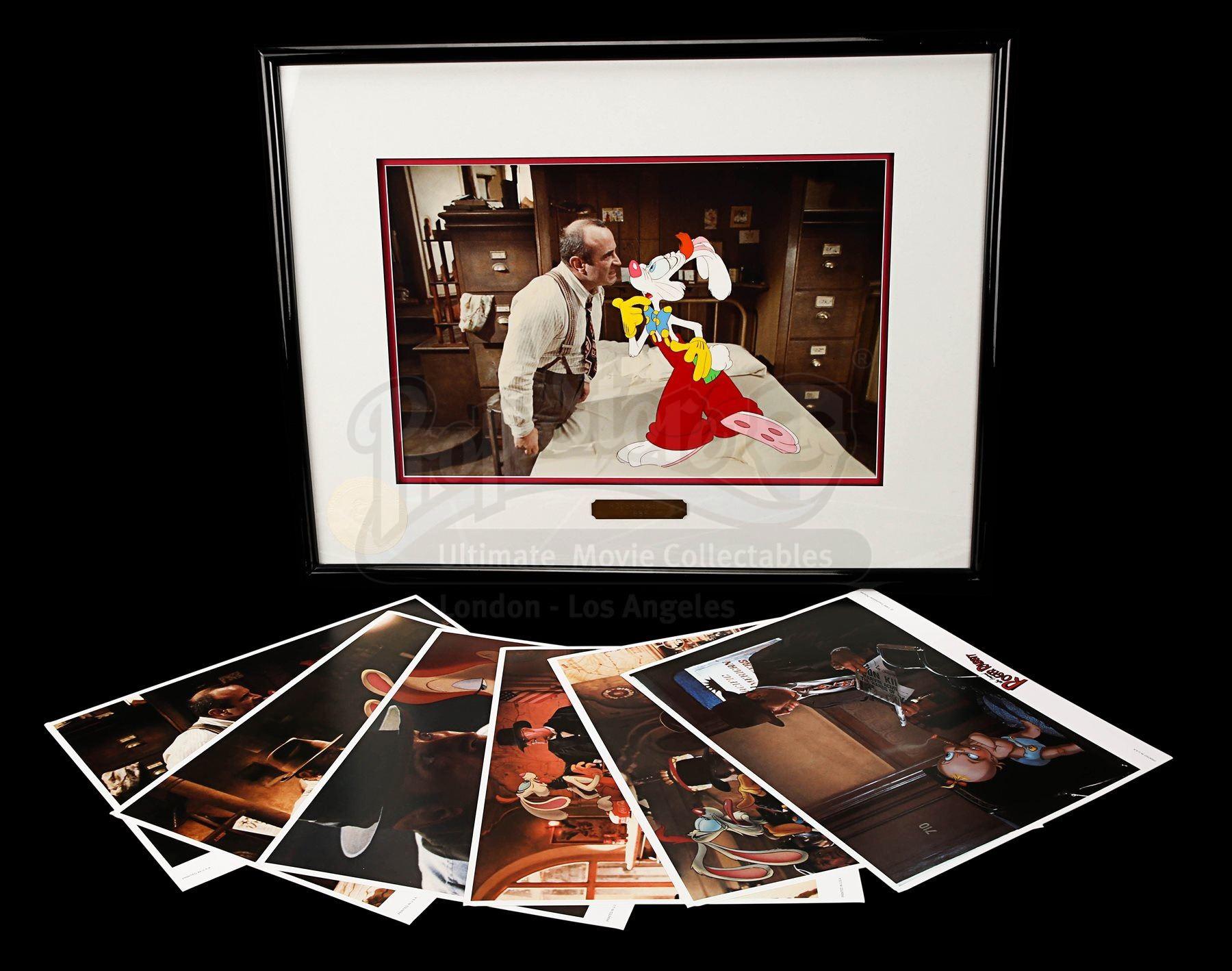 Who Framed Roger Rabbit 1988 Hand Painted Roger Rabbit Animation Cel