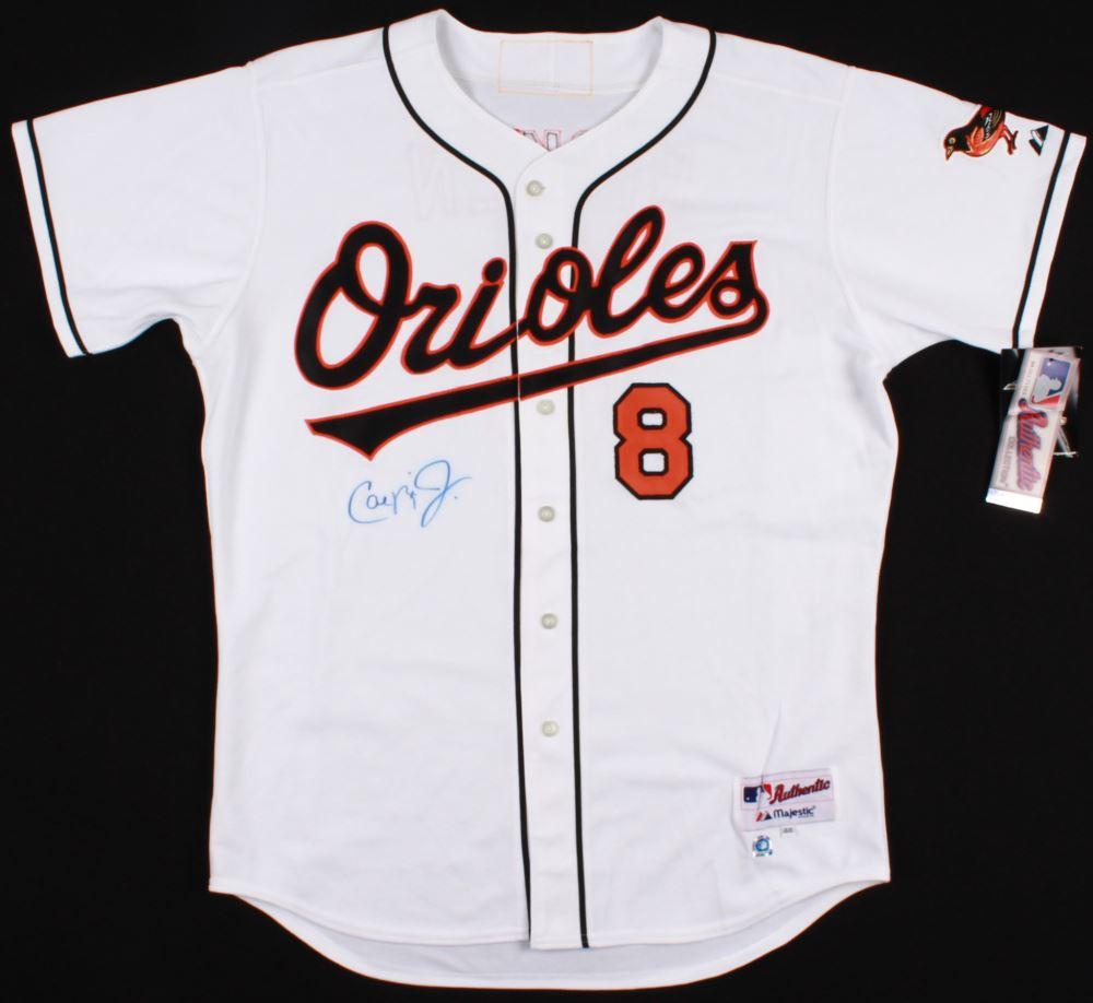 official photos 0b2af f5f95 Cal Ripken Jr. Signed Orioles Jersey (MLB Hologram)