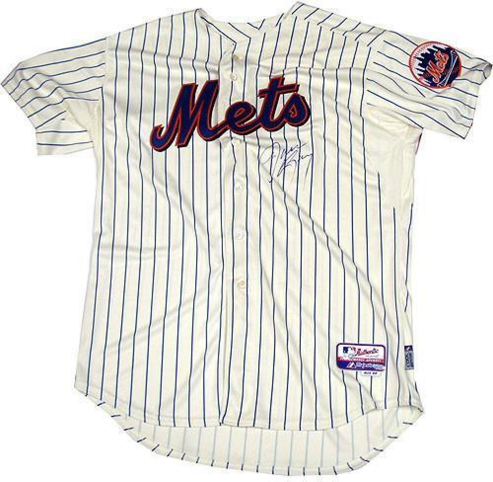 meet dd846 519a0 Jason Bay Signed Mets Jersey (MLB)