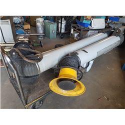 Dust Smoke & Gaz Powerful Suction Arm with Blower