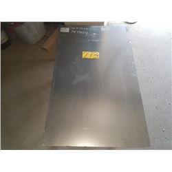 "Stainless Sheet 39""5/16 x 24"""