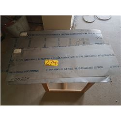Lot of Stainless Sheet (thin .0161)