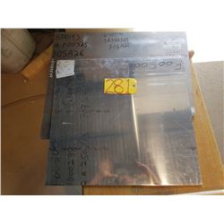 Lot of Aluminum plate