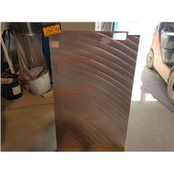 "Aluminum Plate 47""(around 3/16"")"