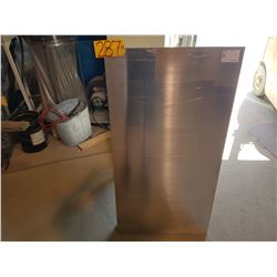 "Aluminum Plate 46""3/8 x 24"" (around 5/32"")"