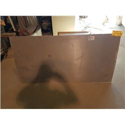 "Aluminum Plate 58""3/8 x 28"" (around 3/16"")"
