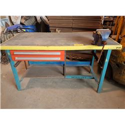 WorkTable with Record Vise 6""