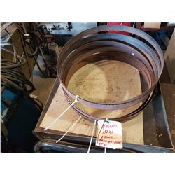 """BandSaw Blade 132"""" x 1"""" 6 tooth (rusted but never used)"""