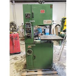 T Jaw Vertical BandSaw