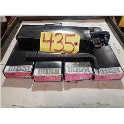 """Box (5) of Eklin Hex-L Keys 1/2"""" long"""