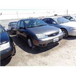 FORD FOCUS 2007 T-DONATION