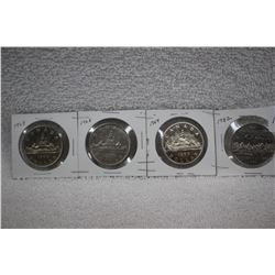 Canada Nickel Dollars (4)
