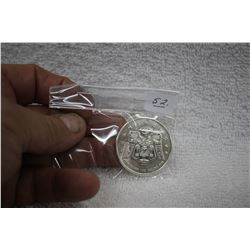 Canada Five Dollar Coin 'Thunderbird & Maple Leaf'