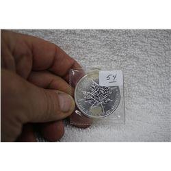 Canada Five Dollar Coin - Maple Leaf