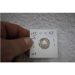 U.S.A. Ten Cent Coin