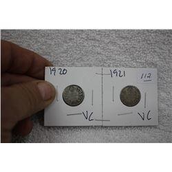 Canada Ten Cent Coins (2)