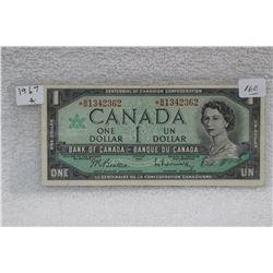 Canada Dollar Bill