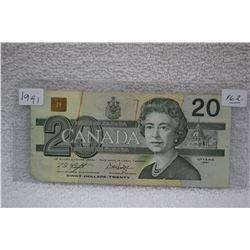 Canada Twenty Dollar Bill