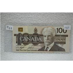 Canada One Hundred Dollar Bill