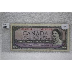 Canada Ten Dollar Bill