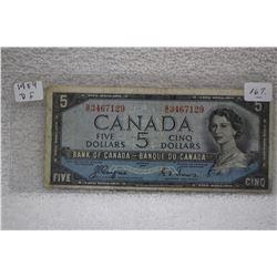 Canada Five Dollar Bill