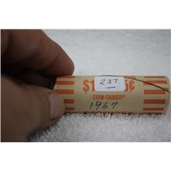 Canada Twenty-five Cent Coins (roll of 40)