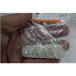 Canada Ten Cent Coins (19)