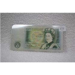 England One Pound Note
