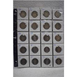 Canada Half Dollar Coins (46)