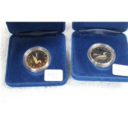 Canada Loonie Coins (2)