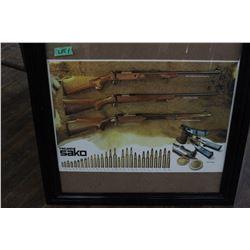 Sako Bullet Mold Poster
