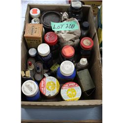 Box of Various Gun Cleaning & Stock Cleaning Items