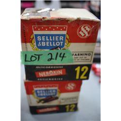 "2 Boxes of Shot Shells - 12 ga. - 2 1/2"""